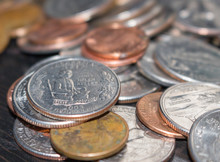 Quarters, Dimes, And Dollar Gold Coins