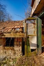 Veranda Of The Abandoned House...