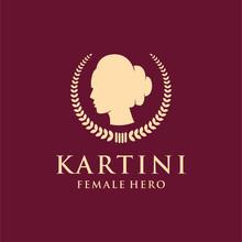 Kartini Logo Concept. Modern D...
