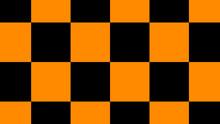 Orange & Black Color Checker B...
