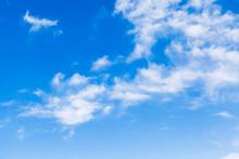 White Altocumulus Clouds In A ...