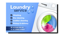 Laundry Service Advertise Prom...