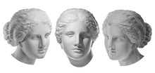 Three Gypsum Copy Of Ancient S...