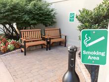 Outddor Smoking Area Designate...