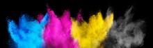 Colorful CMYK Cyan Magenta Yel...