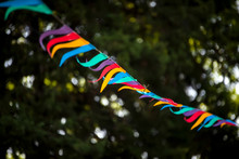 String Of Colorful Flags