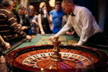 People Playing  In The Casino,...