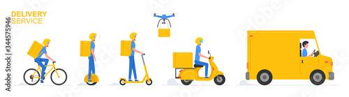 Fototapeta Online delivery service