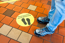 Yellow Warning Sign To Maintai...