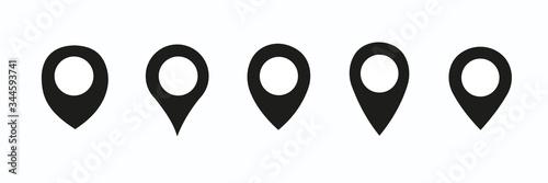 Location pin icon Fototapet