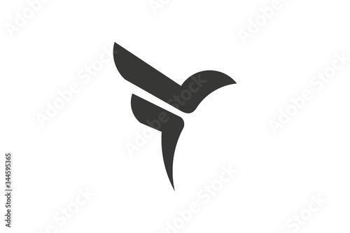 Fototapeta vector illustration of a dove