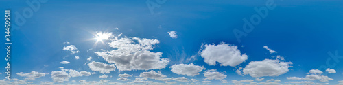 Tela Sky 360 with clouds and sun