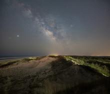 Milky Way Galaxy Sand Dunes In...