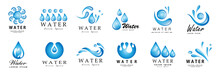 Water Splash Vector And Drop S...