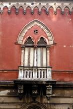 Balcony Of Red Church