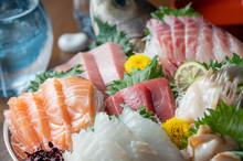 Japanese Traditional Sashimi  ...