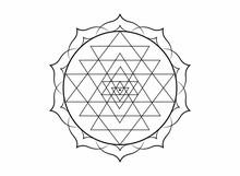 Mystical Mandala Of Sri Yantra...