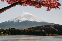 Panoramic View Of Mount Fuji In Japan