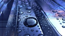 Close-up Of Waterdrops On Surf...