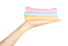 Colored Cleaning Rag.