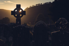 Cross At Cemetery