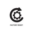 FACTORY RESET ICON , RESET ICON