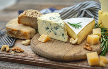 Various Cheese On Plate