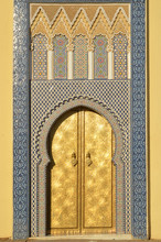 Ornate Entrance Gates To The R...