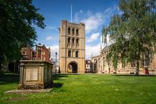 Norman Tower In Bury St Edmund...