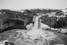The Amazing Aldeyjarfoss Water...