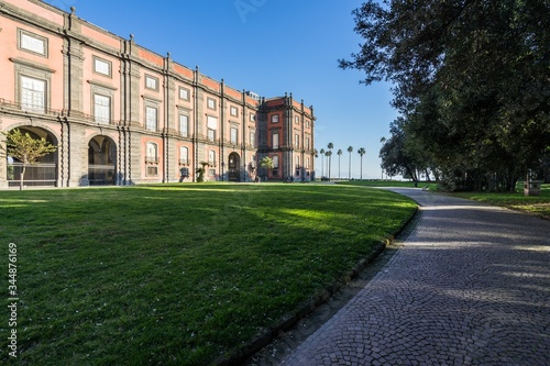 Fotografie, Tablou Beautiful shot of the Capodimonte Museum in Naples, Italy