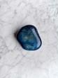 minerały, agat błękitny, błękitny kamień