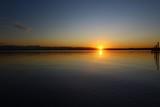 Fototapeta Sypialnia - Fin de journée sur le lac