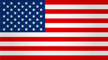 United States Flag. Vector Ill...