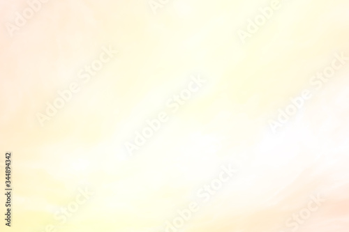 Abstract nature blurred background of gradient colorful golden pink & yellow sky Fototapeta