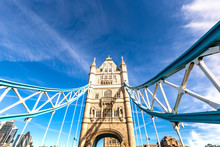 Tower Bridge In London, UK, United Kingdom.