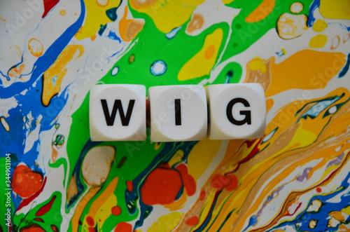slowo wig Canvas Print