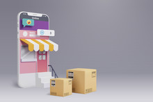 Online Shopping By Smart Phone