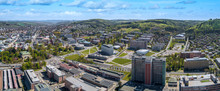 Aerial Panoramatic View Of Cen...