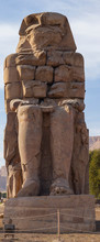 Colossi Of Memnon Are Two Massive Stone Statues Pharaoh Amenhotep III, Who Reigned In Egypt During The Dynasty XVIII.