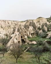 Incredible Fairytale Landscape Of Rocks, Ancient Caves In Cappadocia