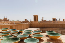 Cityscape Of Yazd From The Roo...