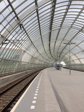 Train Station With Arched Roof