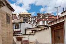 Tibetan Monastery In Yunnan