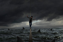 Tightrope Balances On A Rough ...