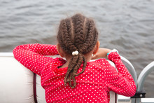 Child With Cornrow Braids And ...