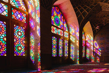 Colorful Interior Of The Pink ...