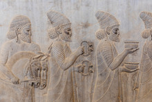 Bas-reliefs In Persepolis