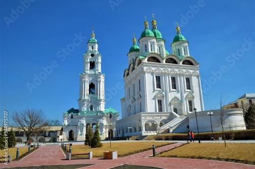 Photo Astrakhan Kremlin in the spring