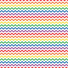Rainbow Colors Seamless Pattern - Colorful And Bright Repeating Pattern Design